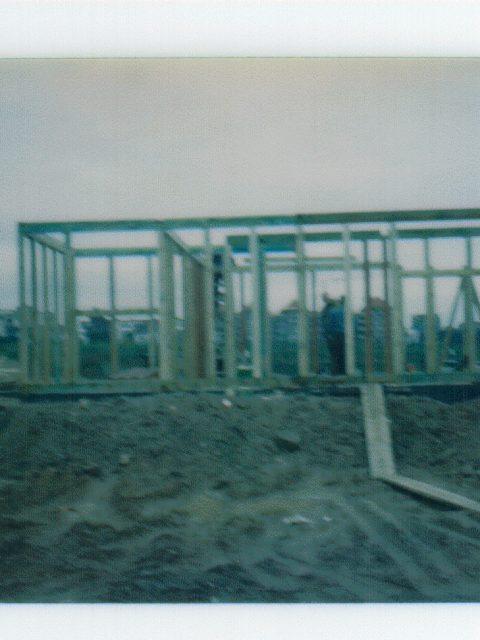 Grundsteinlegung Clubhaus 11.4.1984