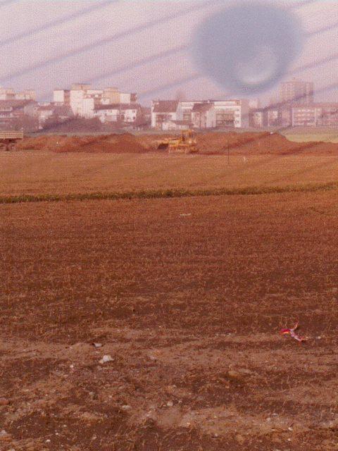 Wiese - Acker 1984 bevor unsere Plätze gebaut wurden